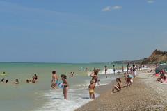 Чёрное море, Крым, посёлок Любимовка