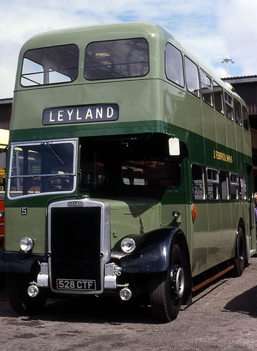 lancs - fishwicks leyland preserved 5 blackpool summer 98 JL