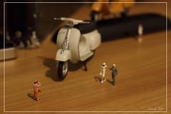 Vespa 50 Special (magikalea) Tags: vintage vespa micro moto petit