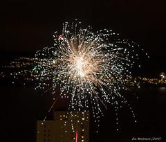 Happy New Year! Fireworks (Mostraum) Tags: norway bergen happynewyear 2014 godtnyttr
