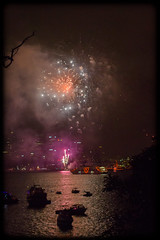 Bringing in 2014 at Bradley's Head, Sydney (Craig Jewell Photography) Tags: iso3200 50mm fireworks harbour nye sydney australia newyearseve sydneyharbour f40 2014 bradleyshead ef50mmf14usm 0ev sec canoneos1dmarkiv 33519s1511445e filename20131231230551x0k0796cr2