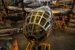 Enola Gay (mtalplacido) Tags: wwii nationalairandspacemuseum atomicbomb enolagay worldwartwo udvarhazy b29 superfortress usarmyaircorps