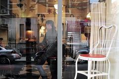 drink Coca~Cola (omoo) Tags: newyorkcity reflection window glass store chair streetscene greenwichvillage hairstylists coca~cola beautyparlor metalchair snipnsip snipandsip drinkcoca~cola dscn6254 202waverlyplace haircutandacoke vintageicecreamdecor metalicecreamchair
