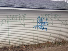 NATIVE WARRIORS 23 (northwestgangs) Tags: spokane ipo gangs bloods crips ganggraffiti surenos nortenos nativewarriors rivalgangs redboyz ninedeuce