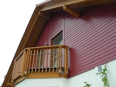 Restaurierung u. Anstrich Holzfassade 011