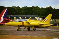 Hi Jack (crusader752) Tags: 2004 pinkfloyd gnat raf t1 kemble davegilmour aerobaticteam yellowjacks folland xr991 xs102 8624m xr992
