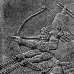 Archer (neil.bulman) Tags: england london unitedkingdom archer britishmuseum lionhunt assyrian assyrianarcher