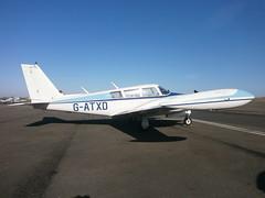 G-ATXD Piper Comanche (Aircaft @ Gloucestershire Airport By James) Tags: james airport gloucestershire piper lloyds comanche pa30 egbj gatxd
