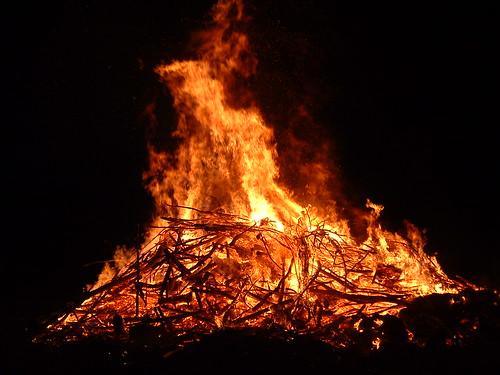 Fastnachtsfeuer & Scheibenschlagen