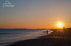 Aprovechando tus ltimos rayos (DaniFdezKarbo) Tags: sunset espaa sol contraluz atardecer andaluca huelva playa silueta andalusia ocaso atlntico ocano ocanoatlntico islantilla onuba paisajesdehuelva