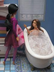 Date Night 6 (mydollfamily) Tags: barbie christie sis fashiondoll mattel diorama soinstyle