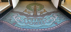 Mosaic, Peter Jones (shadow_in_the_water) Tags: london mosaic storefront artdeco sloanesquare kingsroad peterjones cadogangardens sw3 193236