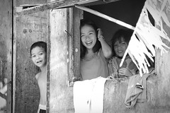 IMG_4496 (marbleplaty) Tags: street bw window smiling kids children candid philippines may legazpi albay unanimous thechallengefactory orosite