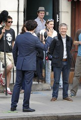 Setlock August 2013 - North Gover Street (Sherlocked.dk) Tags: male london tv martin 21 britain personality actor series aug filming freeman sherlock benedict 2013 cumberbatch 18934529