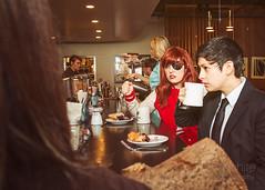 Twin Peaks @ Lost Lake_StackeDD Magazine (off white photography) Tags: seattle coffee restaurant diner twinpeaks editorial conceptual davidlynch cultclassic agentdalecooper canon5dmkiii nadinehurley lostlakecafe jenayers aubreyrachelvioletbramble brynsantillan stackedd