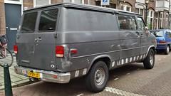 Chevrolet Chevy Van 20 6.2 V8 Diesel (sjoerd.wijsman) Tags: auto holland cars chevrolet netherlands car grey den gray nederland thenetherlands grau voiture chevy holanda van haag paysbas olanda lieferwagen fahrzeug niederlande grijs zuidholland onk carspotting chevyvan carspot bedrijfswagen grijskenteken sidecode4 25012015 vr39js