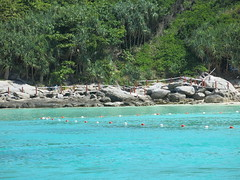 another island with beautiful water (ClemsonWendi) Tags: thailand rayaisland rochaisland