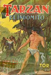 Tarzán el indómito (ciudad imaginaria) Tags: books book tarzán tarzan edgarriceburroughs 40s palau ricardopalau libros