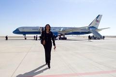 Former Secretary of State Condoleezza Rice Arrives at King Khaled International Airport (U.S. Department of State) Tags: riyadh saudiarabia condoleezzarice