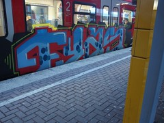 FYAS (mkorsakov) Tags: train graffiti zug bahnhof colored sbahn hbf dortmund bunt s2 fyas