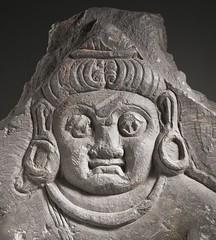The Hindu God Vishnu LACMA M.69.13.2 (5 of 17) (cropped) (Fæ) Tags: wikimediacommons capturedeviceleafaptusdigitalback photographersoliver departmentsouthandsoutheastasianart imagesfromlacmauploadedbyfæ sculpturesfromindiainthelosangelescountymuseumofart vaikunthachaturmukha