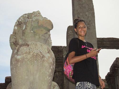 Rencotre avec Anisha, Cambodge