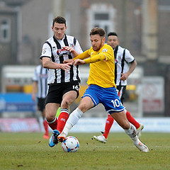 """Grimsby Town v Bristol Rovers 140215 • <a style=""""font-size:0.8em;"""" href=""""https://www.flickr.com/photos/125622569@N04/16543754626/"""" target=""""_blank"""">View on Flickr</a>"""