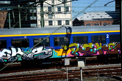 traingraffiti (wojofoto) Tags: holland graffiti nederland netherland traingraffiti reks wolfgangjosten wojofoto treingraffiti