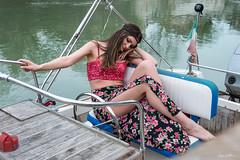 Feeling gipsy (luigi.scuderi) Tags: portrait model houseboat editorial cinematic storytelling