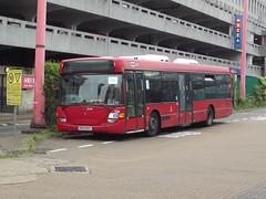 Trustybus (ex Metrobus 526) Scania CN94UB/Scania Omnicity YN53RXV Harlow Bus Station 18/05/16 (TheStanstedTrainspotter) Tags: red bus public buses transport 420 harlow publictransport scania metrobus 526 omnicity scaniaomnicity cn94ub trustybus scaniacn94ub galleontravel harlowbusstation yn53rxv tbrxv