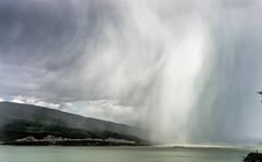 The perfect storm (Micko1986) Tags: sky storm rain ship serbia danube dunav golubac