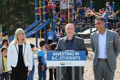 Administrative savings go back to students (BC Gov Photos) Tags: students education classroom resources funding mikebernier bcgovernmentbritishcolumbiabc adminsavings