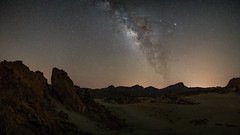 Teide (Bastian.K) Tags: mountain mountains rock zeiss way stars star solar sand strasse dunes sony dune astro system formation steine galaxy astrophotography e carl 28 milky teneriffa formations milch sterne dnen 18mm milkyway batis strase a7s milchstrase astroscape steinformationen emount astrolandscape ilce7s