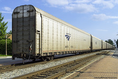Auto Train Car Carrier (ExactoCreation) Tags: auto car train amtrak carrier superliner