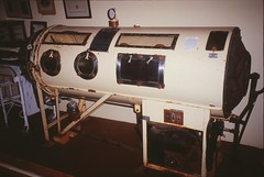 Iron Lung (David K. Edwards) Tags: emerson ironlung paralysis polio drinker respirator nightmarish bulbar negativepressure