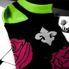 Fleur de Socks (Jules (Instagram = @photo_vamp)) Tags: roses socks gift surprise fleurdelis