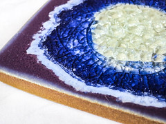 blue + purple (jojoannabanana) Tags: blue color closeup purple geode coaster canonpowershot s100 3662016