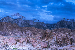 Approaching Storm - Lone Pine Peak (www.karltonhuberphotography.com) Tags: california mountains weather clouds landscape outdoors morninglight rocks exploring adventure boulders change wilderness drama lonepine tension rugged sierranevadamountains easternsierra alabamahills 2016 approachingstorm lonepinepeak mountainpeaks landscapephotography springstorm wideopenspaces wildplaces sierracrest horizontalimage karltonhuber