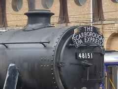 2016-Jun-16 - York - The Scarborough Spa Express 6 (GeordieMac Pics) Tags: york station train lumix engine railway steam panasonic locomotive dmc uksteam 48151 thescarboroughspaexpress fz200 ©2016georgemcvitieallrightsreserved