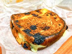 Brioche raisin toast with lamb and cheese (garydlum) Tags: cheese au australia lamb canberra phillip brioche australiancapitalterritory woden raisintoast