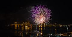 Fuochi d'artificio di San Giovanni 2016 a Vado Ligure [2] (Tiziano Caviglia) Tags: sea port lights mare fireworks liguria porto luci fuochidartificio marligure vadoligure rivieradellepalme portovado