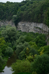 bench above the river (intui.pro) Tags: old plant tower history tourism nature stone river outdoor stones text reserve ukraine canyon walls kamianetspodilskyi