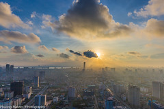 IMG_8605 (phuong0304p) Tags: city sunset building sunrise cityscapes bluesky hanoi cityskyline keangnam hanoiskyline
