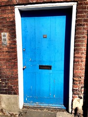 (lisaeke) Tags: door blue texture norwich