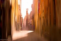Cool Tuscany (prueheron) Tags: street cool alley purple tuscany impressionist intentionalcameramovement impressionistm