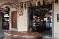 Greve_Salumi (seppi_hofer) Tags: italy italien tuscany toskana greve food lebensmittel wine wein alimentari shop greveinchianti