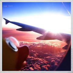 ... nel blu dipinto di blu  (Angelo Trapani) Tags: volo viaggio aereo papero ducktales avventura