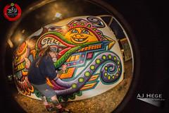 Zen Awakening Festival 2015 (AJ Hge Photography) Tags: november people art love festival canon painting fun orlando artwork community mural artist florida fisheye event human talent humans chrisdyer 2015 opteka 60d furtographer ajhegephotography ajhgephotography livesprayart zenawakeningfestival zaf2015 zenfields chrisdyerspositivecreations