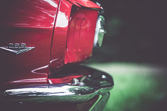 red horse (Margot in Love) Tags: auto wedding red rot car rings mustang hochzeit ringe karre vsco