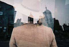 Double Exposure (_markforbes_) Tags: film 35mm eos300 streetphotography urbanphotography colour urban streettogs photojournalism reportage documentary filmisnotdead filmneverdie filmphotography ishootfilm analog streetphotographer minimal minimalist